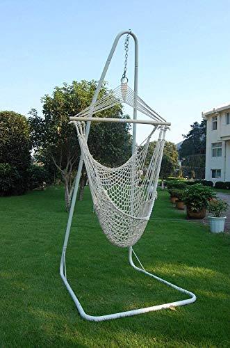 XCJJ Balanceando la Cuerda Hamaca Silla, for el jardín, Uso al Aire Libre