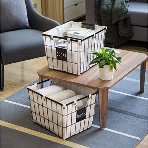 JN Better Homes & Gardens Medium Wire Basket with Chalkboard - 2 Pack - Medium