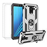 MSK Samsung Galaxy A8 2018 Case + [2 Pack] Tempered