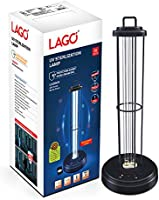LAGO 18W UV-C Germicidal Sterilization Lamp Tested & Certified by ICMR and NABL Accredited Lab (CSIR/CSIO) for UV-C...