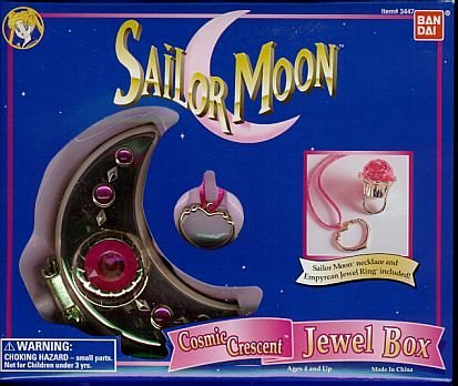 Hot Sale Sailor Moon Cosmic Crescent Jewel Box - Impossible to Find!