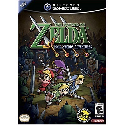 Zelda Four swords adventures pack - GameCube - US