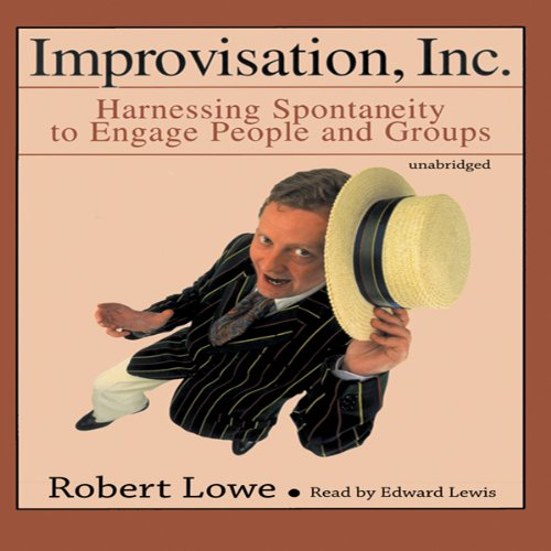 Improvisation, Inc. audiobook cover art