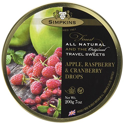 Simpkins Apple, Raspberry & Cranberry Travel Sweets, 12er Pack (12x 200 g)
