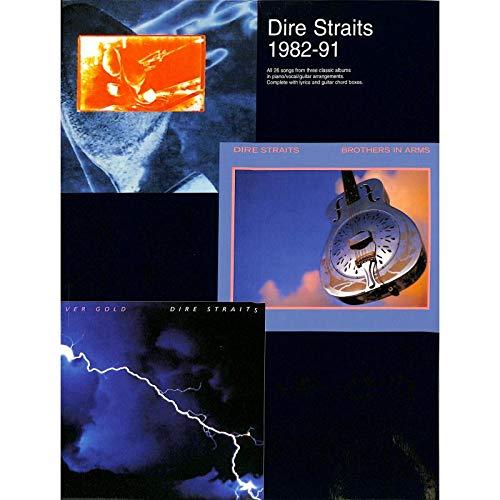 Dire Straits 1982-91. Partitions pour Piano, Chant et Guitare(Boîtes d\'Accord)