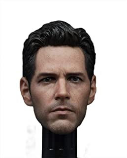 1/6 Male Head Sculpt for Phicen Hottoys Muscular Body