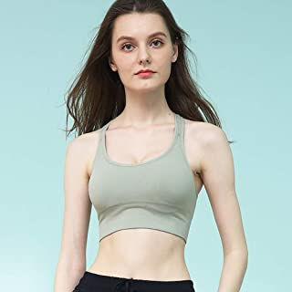 Magic Bra Women's High Support Sports with Removable Cups Light & Breathable Running E XL