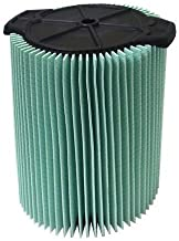 Ridgid VF6000 Genuine Replacement 5-Layer Allergen, Fine Dust, and Dirt Wet/Dry Vac Filter 5-20 Gallon Vacuums