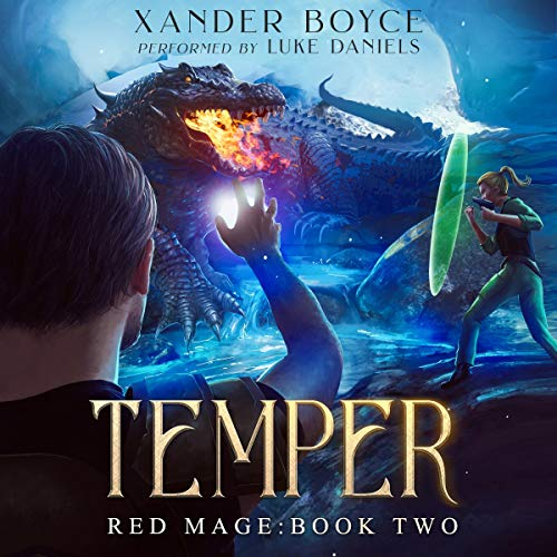 Temper: An Apocalyptic LitRPG Series audiobook cover art