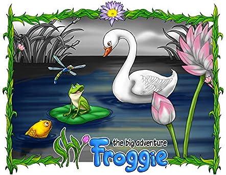 Shy Froggie