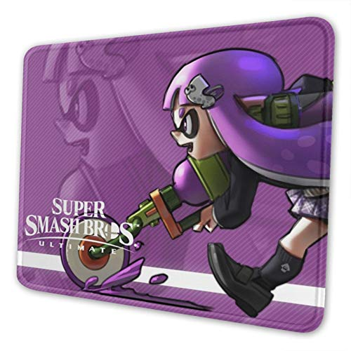 Inkling Splatoon Mouse Pad Customized Gaming Mousepad Non-Slip Rubber Base Mouse Pads for Computers Laptop Office Desk Accessories