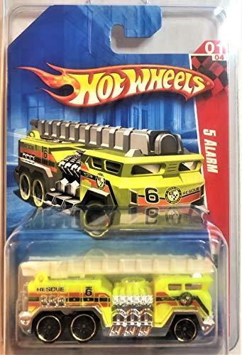 Hot Wheels 2010 Race World Yellow 5 Alarm Fire Truck by Hot Wheels