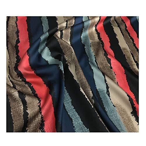 Prachtige zijde satijn 130 cm breed Verkocht per meter Vellen maken Zomer vest Korte rok Broek