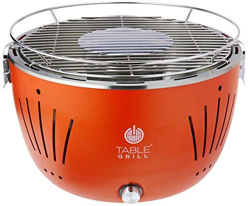 TABLE GRILL Asador portátil de carbón práctico y muy fácil de us