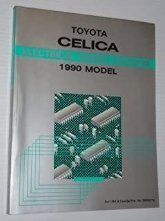 1991 Toyota Celica Electrical Wiring Diagram (AT180, ST184, ST185 Series)
