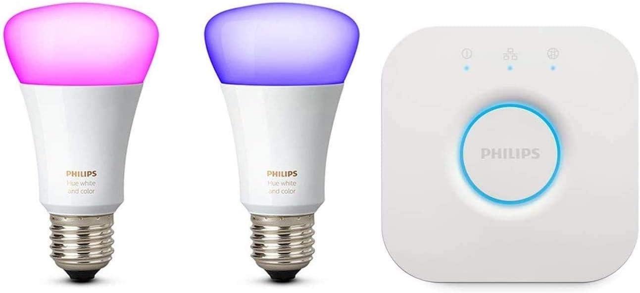 Bombilla de Luz LED Inteligente Philips Hue White and Color