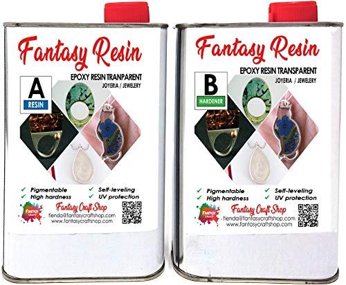 Resine Epoxy Transparente 4,5 kg Qualite Pro Limpide Faible Odeur Bois Gants FR
