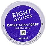 Eight O'Clock Dark Italian Roast Coffee Keurig K-Cups, 72 Count