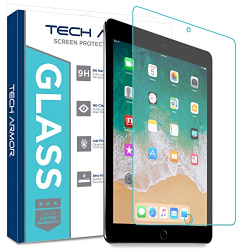 Tech Armor Ballistic Glass Screen Protector Designed for Apple iPad Air 3 (2019), iPad Pro 10.5 inch - Case-Friendly, Tempered Glass, Ultra-Thin, Scratch and Impact Protection [1-Pack]