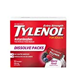 Tylenol Extra Strength Dissolve Packs with Acetaminophen for Pain