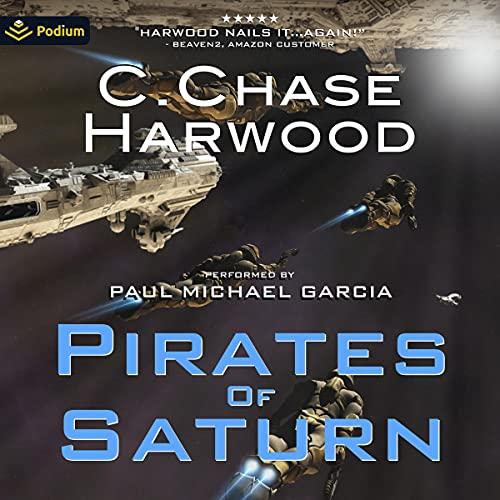 Pirates of Saturn Audiobook By C. Chase Harwood cover art