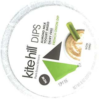 Kite Hill, Dip French Onion Plant Based, 8 Ounce