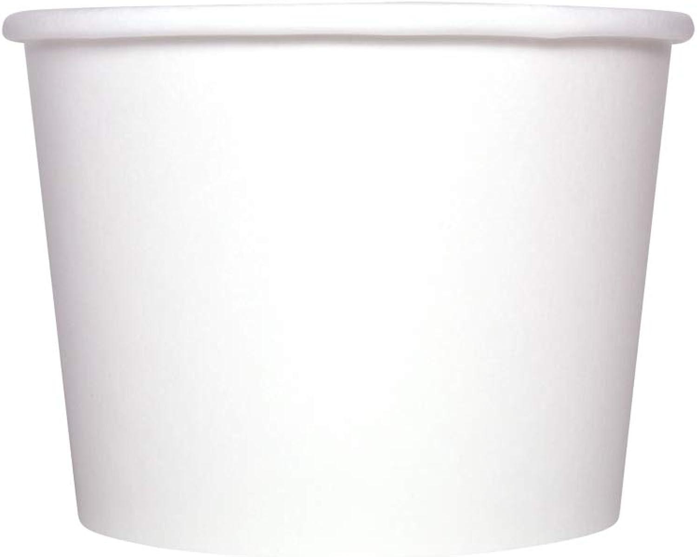 Karat C-KDP12W 12 oz. Food Container - White (Case of 1000)