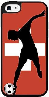 BleuReign(TM) World Cup Switzerland Soccer Plastic Phone Case Back Cover iPhone 4 4s