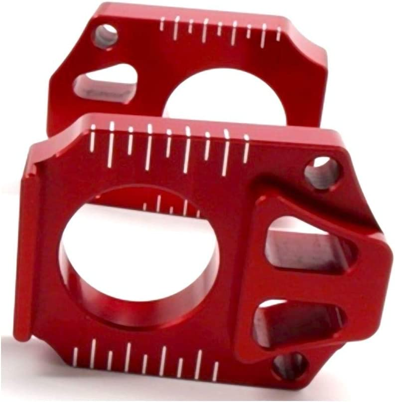 Works Connection Elite Axle Blocks All stores are sold RED 02-08 Yamaha YZ250F for Max 55% OFF