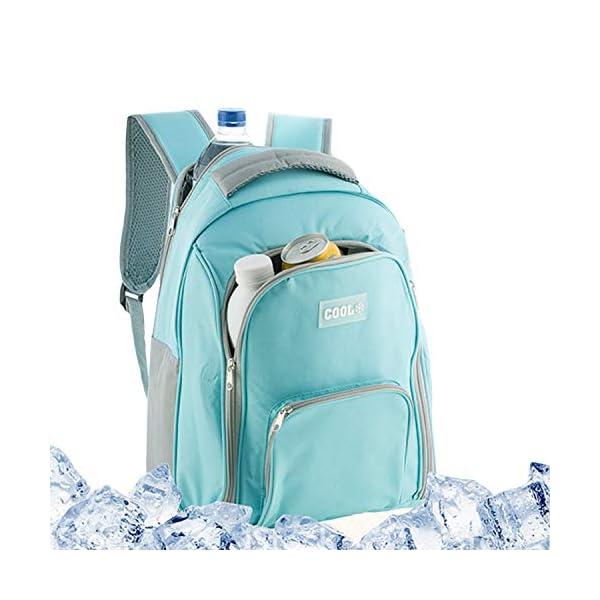 51Q7frI3zSL. SS600  - GEEZY - Mochila de refrigeración aislada (12 L)