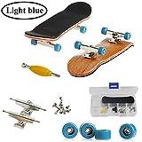 AumoToo Mini diapasón, Patineta de Dedos Profesional Maple Wood DIY Assembly Skate Boarding Toy...