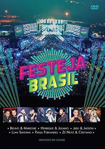 Festeja Brasil - Gravado Em Cuiaba - [DVD] - Varios