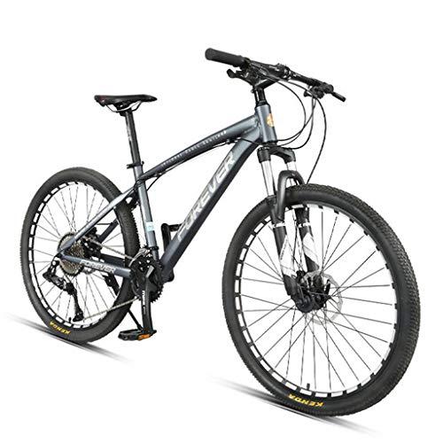 XZBYX Mountain Bike Homme Vitesse Variable Hors Route Ultra-Léger 36 Vitesse Adulte Vélo De Course...