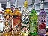 5 en 1, Qaromas Lote Agua Florida Original, Ruda, Pusanga, Kananga y Rosas