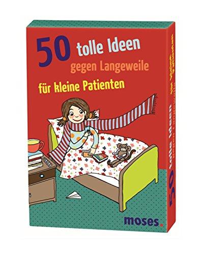 moses. 50 tolle Ideen gegen Langeweile für kleine Patienten | Kinderbeschäftigung | Kartenset