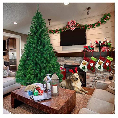 YOGANHJAT Árbol de Navidad, Abeto Artificial Automontable Metálico Natural Incl. Soporte para...