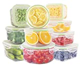 Food Storage Containers,UMUM Plastic Meal Prep Containers with Lids,Airtight- Freezer & Microwave...