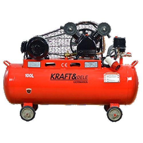 Kompressor kd-r406Kraft Germany cinghiato dreiphasig 380V 3,8kW 150L 150Liter–Gewicht: 85kg