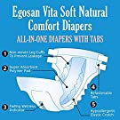 Egosan Maxi Incontinence Disposable Adult Diaper Brief with Tabs Maximum Absorbency and Adjustable for Men and Women (Large 15-Count) #1