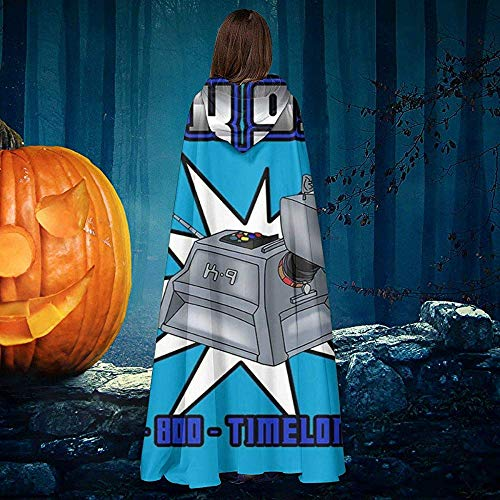 Not Applicable Cape Hexe,Doctor Who K9 Shopping Werbung Premium Wizard Capes Für Karnevalsparty 40x150cm