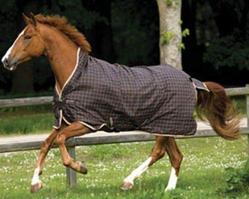 Pferde Winterdecke Horseware Rhino Wug (Regendecke) 125cm 400g Füllung Chocolate with Cream check with Chocolate & Cream