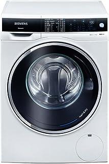 SIEMENS 西门子 10公斤洗烘一体变频 滚筒洗衣机 智能除渍 LED显?#37202;?白色)XQG100-WD14U5600W(亚马逊自营商品, 由供应商配送)