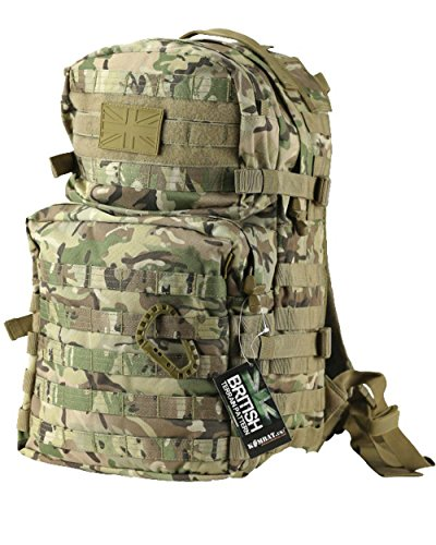 Zip Zap Zooom Sac à dos militaire militaire militaire militaire militaire Molle 40 l Surplus Camo tout terrain BTP