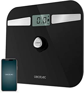Cecotec - - Bathroom - Digital Bathroom Scales Cecotec EcoPower 10200 Smart Healthy LCD Bluetooth 180 kg Black - Default T...