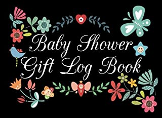 Baby Shower Gift Log Book: Gift Log & Guest Book