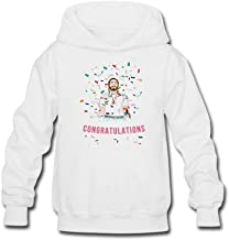 Aliensee Youth Congratulations Post Malone Stoney Hoodie Sweatshirt Suitable for 10-15yr Old