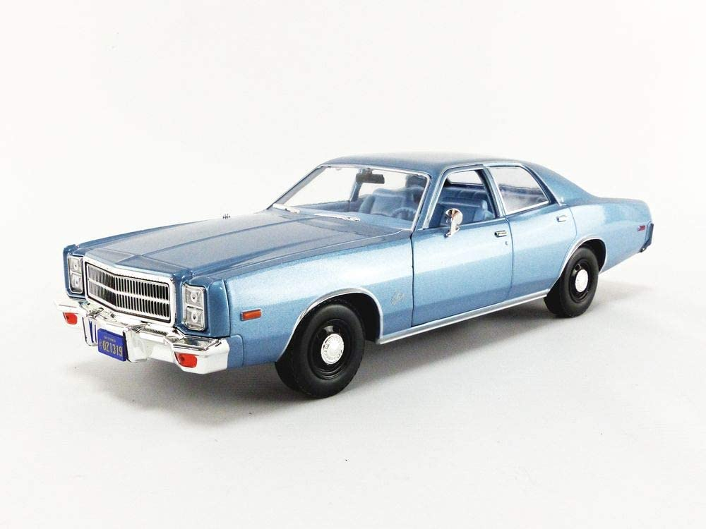 Sale Plymouth 1977 Fury In stock Steel Blue Rudolph Chris Detective Junkins'