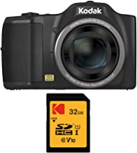 $119 » Kodak PIXPRO FZ152 16MP Compact Digital Camera with 15x Optical Zoom with 32GB SD Card Bundle (2 Items)