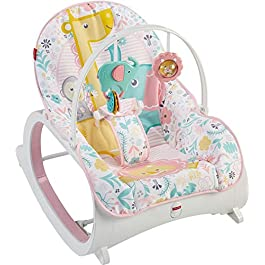 Fisher Price Baby Girl's Infant-to-Toddler Rocker