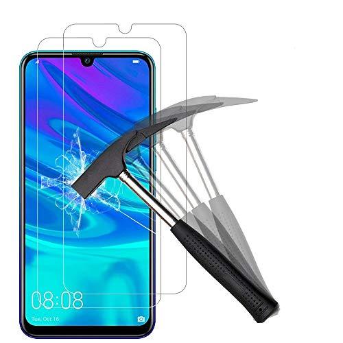 ANEWSIR 2 Stück Schutzfolie Kompatibel mit Huawei P Smart 2019/P Smart 2020 Bildschirmschutzfolie [2 Stück] mit Installationswerkzeug, Anti-Bläschen, Anti-Kratzen.